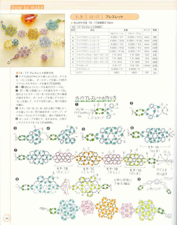 Схемы плетения браслетов с резиночек