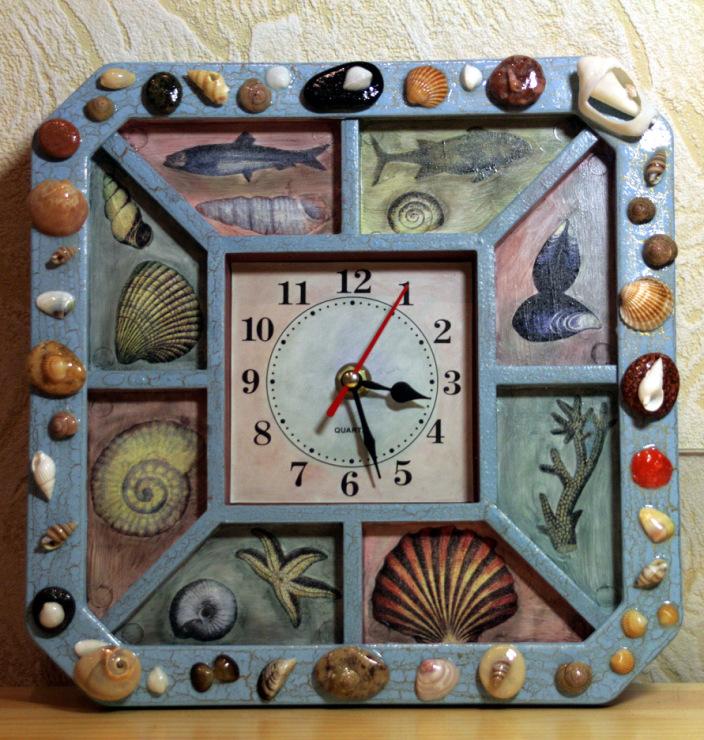 Часы из ткани своими руками