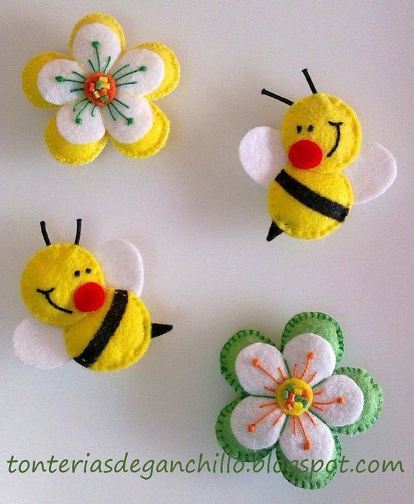Бабочки и пчелки поделки своими руками с видео и фото