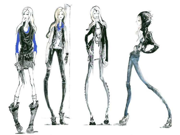 Все тренды сезона по приятной цене.Женская одежда - Платья - Блузы и туники