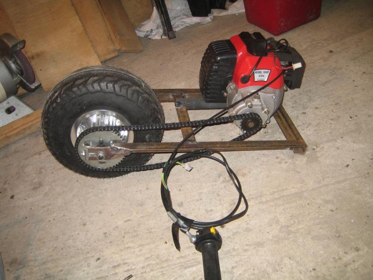 Лодочный мотор от скутера своими руками 190