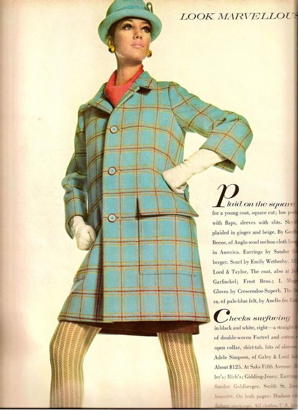 """Tags. продолжаю выкладывать сканы модных журналов  """"Voque """",  """"Bazaar """" и  """"Look Marvelous """" 40-х, 50-х и 60-х годов..."""